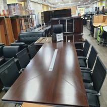 회의용 탁자 세트